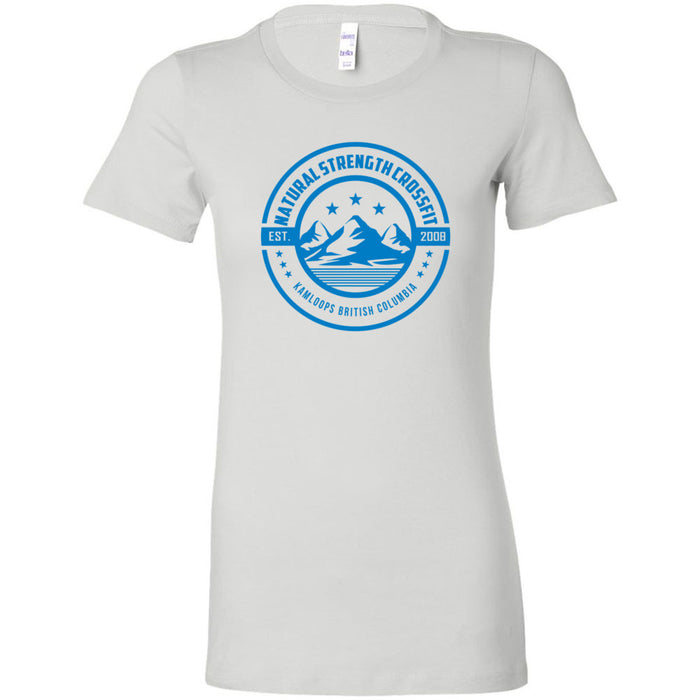 Natural Strength CrossFit - 100 - Mountain - Bella + Canvas - Women's The Favorite Tee