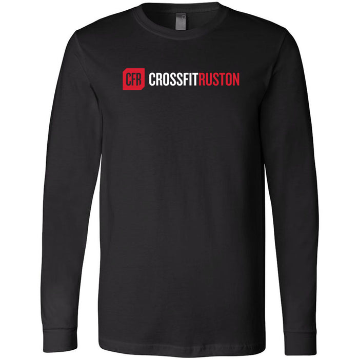 CrossFit Ruston - 100 - CFR - Bella + Canvas 3501 - Men's Long Sleeve Jersey Tee
