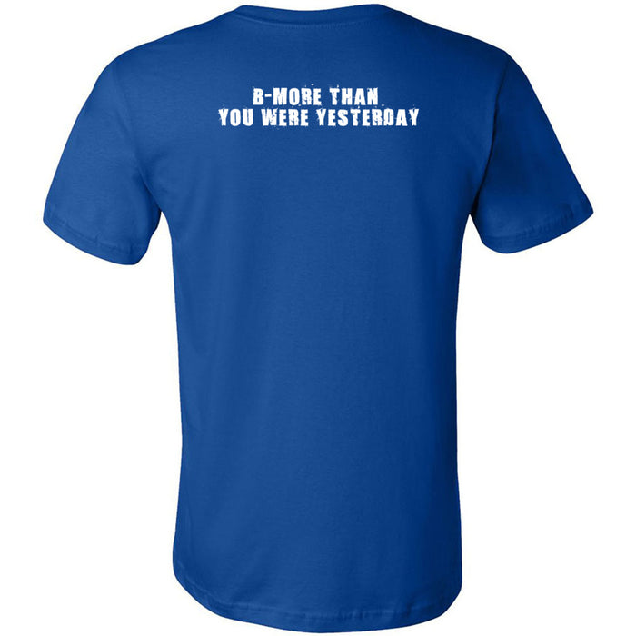 CrossFit Towson - 200 - B-More Than You Were Yesterday Standard - Bella + Canvas - Men's Short Sleeve Jersey Tee