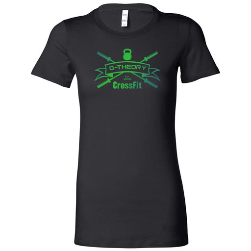 G-Theory CrossFit - 100 - Standard Gradient - Bella + Canvas - Women's The Favorite Tee