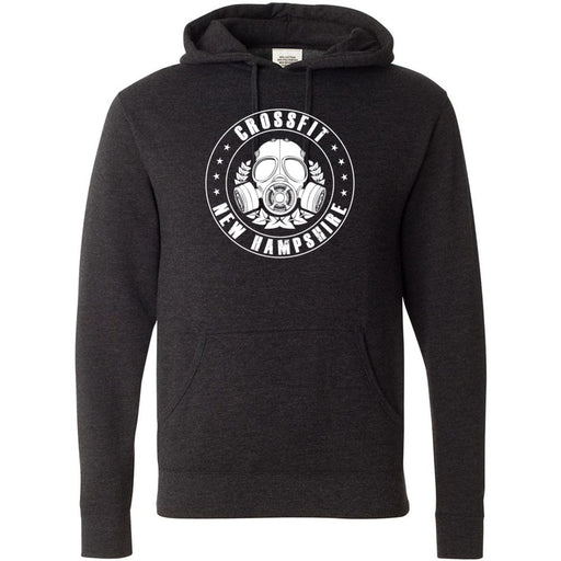 CrossFit New Hampshire - 100 - CFNH One Color - Independent - Hooded Pullover Sweatshirt