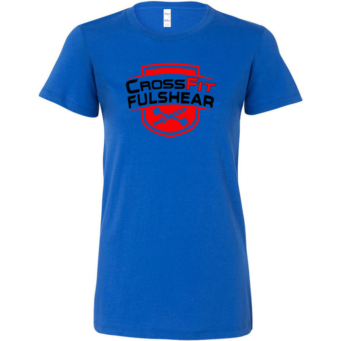 CrossFit Fulshear - Red - Bella + Canvas - Women's The Favorite Tee
