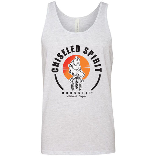 Chiseled Spirit CrossFit - 100 - Stacked - Bella + Canvas - Men's Jersey Tank