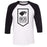 CrossFit Iron Legion - 100 - Standard - Bella + Canvas - Men's Three-Quarter Sleeve Baseball T-Shirt