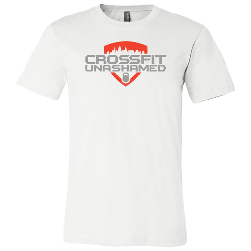 CrossFit Unashamed - 100 - Standard - Bella + Canvas - Men's Short Sleeve Jersey Tee