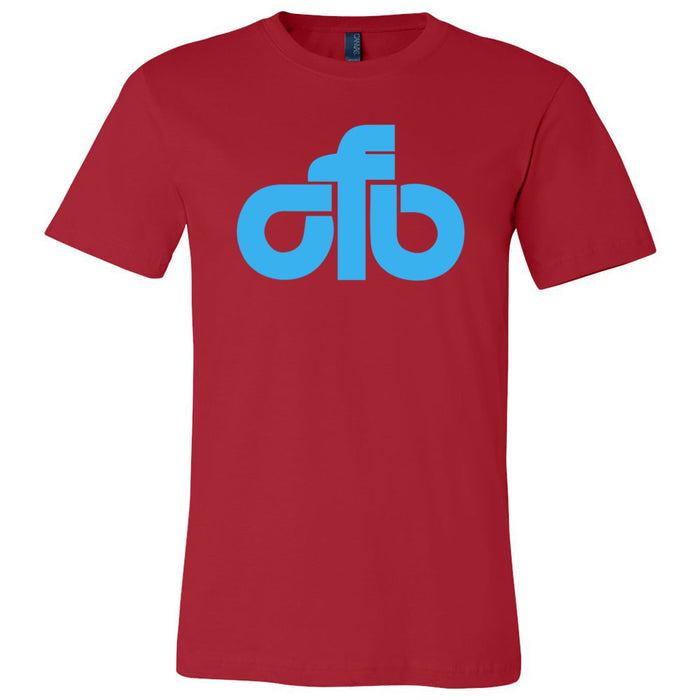 CrossFit Beaumont - 200 - CFB Blue - Bella + Canvas - Men's Short Sleeve Jersey Tee