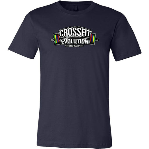 CrossFit Evolution - 100 - Standard - Bella + Canvas - Men's Short Sleeve Jersey Tee