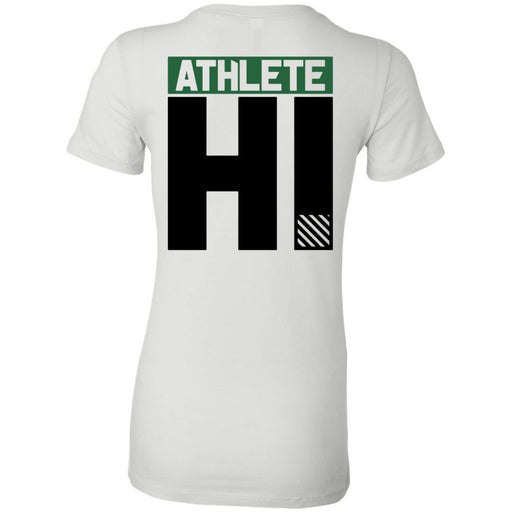 CrossFit Oahu - 200 - HI Green Black - Bella + Canvas - Women's The Favorite Tee