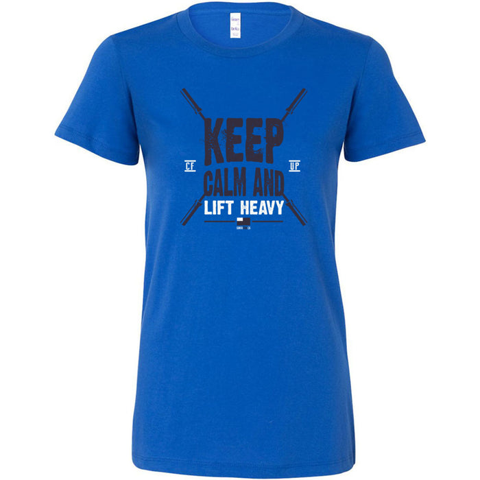CrossFit Up - 200 - Keep Calm - Bella + Canvas - Women's The Favorite Tee