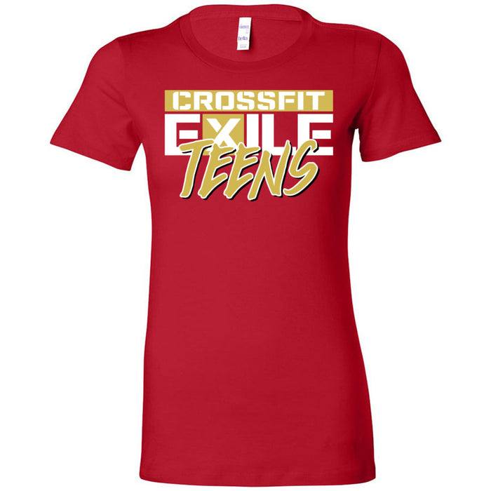 CrossFit Exile - 100 - Teens Gold - Bella + Canvas - Women's The Favorite Tee