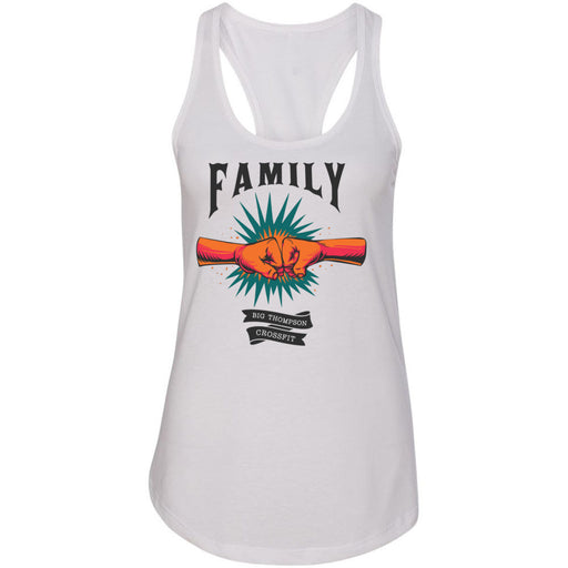 Big Thompson CrossFit - 100 - Family - Next Level - Women's Ideal Racerback Tank