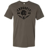 CrossFit Riverside - 100 - CFR - Bella + Canvas - Men's Short Sleeve Jersey Tee