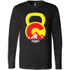 5280 CrossFit - 100 - Kettlebell - Bella + Canvas 3501 - Men's Long Sleeve Jersey Tee