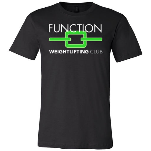 Port Coquitlam CrossFit - 200 - Weightlifting Club - Bella + Canvas - Men's Short Sleeve Jersey Tee