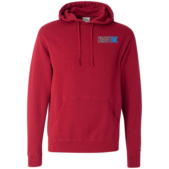 CrossFit KMC - 100 - Pocket One Side - Independent - Hooded Pullover Sweatshirt