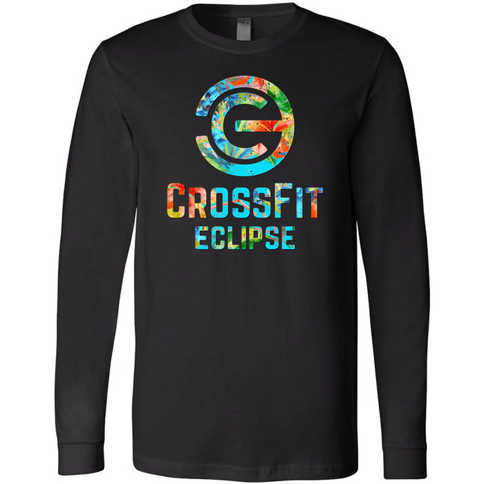 CrossFit Eclipse - 100 - Tropical - Bella + Canvas 3501 - Men's Long Sleeve Jersey Tee