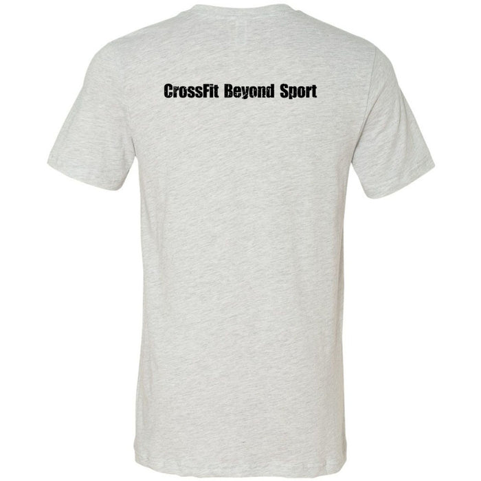 CrossFit Beyond Sport - 200 - Tae Kwon Do - Bella + Canvas - Men's Short Sleeve Jersey Tee