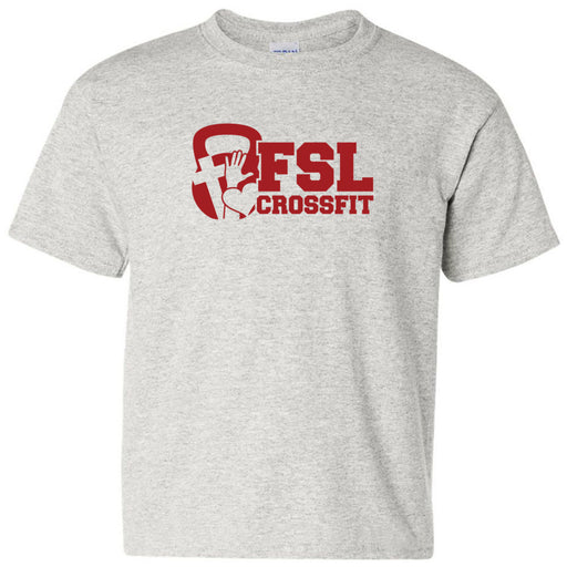 FSL CrossFit - 100 - Red - Gildan - Heavy Cotton Youth T-Shirt
