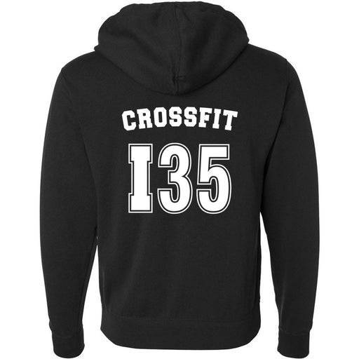 CrossFit I35 - 201 - Athletic - Independent - Hooded Pullover Sweatshirt
