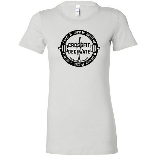 CrossFit Decimate - 100 - Standard - Bella + Canvas - Women's The Favorite Tee