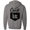 CrossFit Rx - 201 - Cursive - Independent - Hooded Pullover Sweatshirt