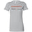 CrossFit SAC - 100 - Red & Silver - Bella + Canvas - Women's The Favorite Tee