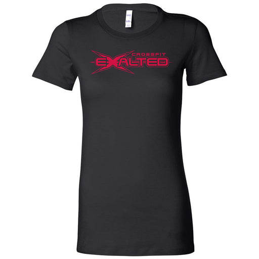 CrossFit Exalted - 100 - Red - Bella + Canvas - Women's The Favorite Tee