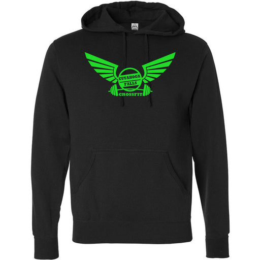 Cuyahoga Falls CrossFit - Standard - Independent - Hooded Pullover Sweatshirt