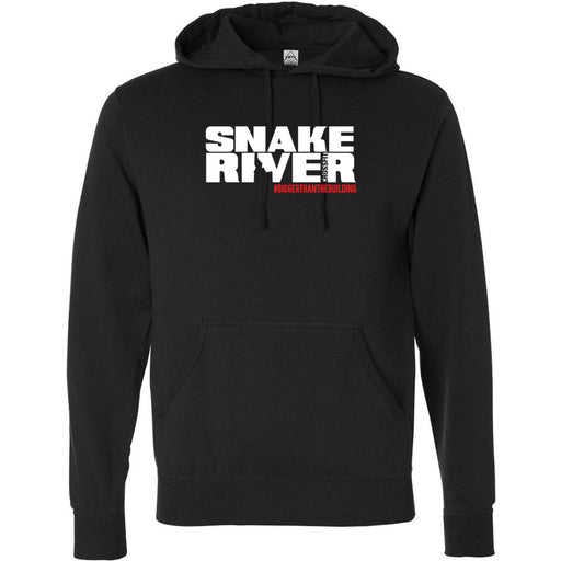 Snake River CrossFit - 201 - Outlaw - Independent - Hooded Pullover Sweatshirt