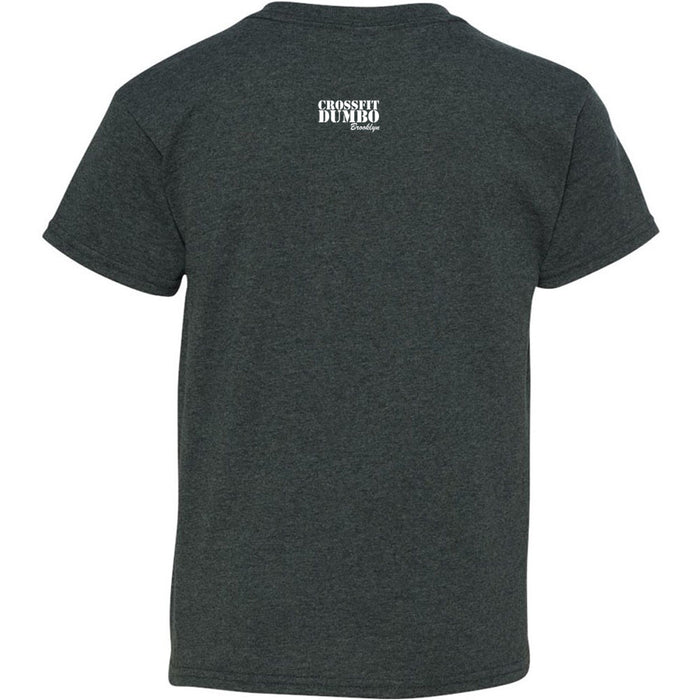 CrossFit Dumbo - 200 - Brooklyn - Gildan - Heavy Cotton Youth T-Shirt