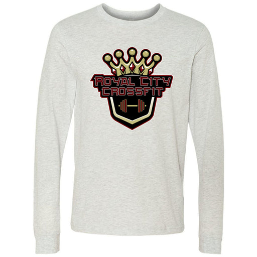 Royal City CrossFit - 100 - Standard - Bella + Canvas 3501 - Men's Long Sleeve Jersey Tee