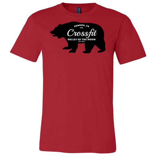 CrossFit Valley of the Moon - 100 - 05 Wilderness - Bella + Canvas - Men's Short Sleeve Jersey Tee