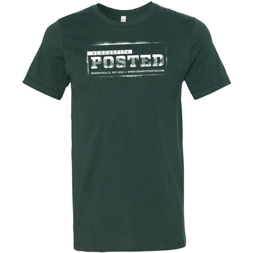 CrossFit Posted - 100 - Standard - Bella + Canvas - Men's Short Sleeve Jersey Tee