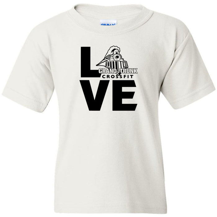 Grand Trunk CrossFit - 100 - LOVE - Gildan - Heavy Cotton Youth T-Shirt