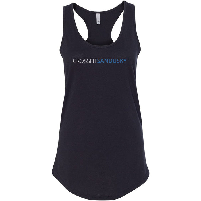 CrossFit Sandusky - 100 - Standard - Next Level - Women's Ideal Racerback Tank