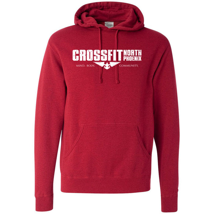 CrossFit North Phoenix - 100 - 1 Sided Print - Independent - Hooded Pullover Sweatshirt