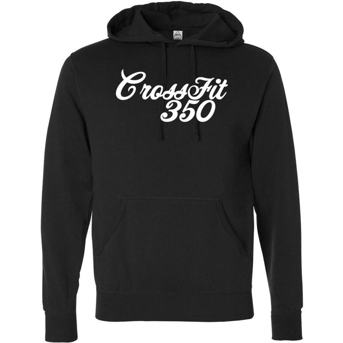 CrossFit 350 - 100 - Script - Independent - Hooded Pullover Sweatshirt