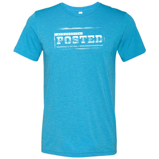 CrossFit Posted - 100 - Standard - Bella + Canvas - Men's Triblend Short Sleeve Tee
