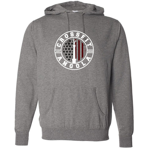 CrossFit Angola - 100 - Standard - Independent - Hooded Pullover Sweatshirt