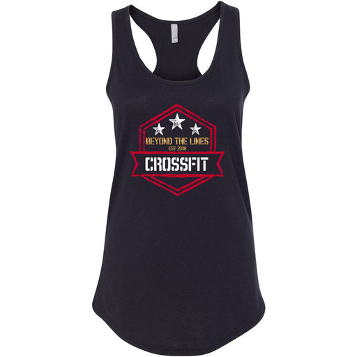 Beyond The Lines CrossFit - Standard - Next Level - Women's Ideal Racerback Tank