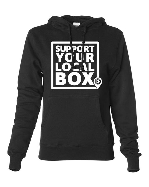 "Official ""Support Your Local Box"" Women's Hoodie"