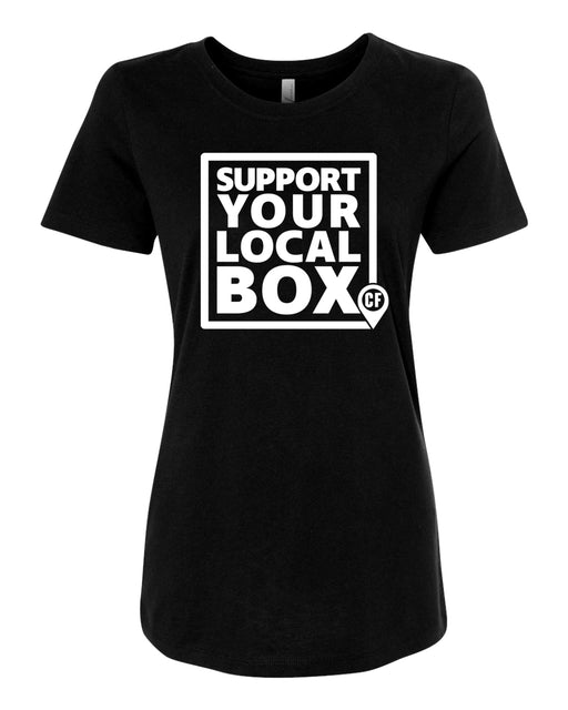 "Official ""Support Your Local Box"" Women's Tee Shirt"