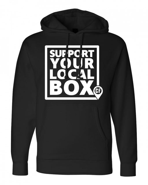"Official ""Support Your Local Box"" Men's Hoodie"