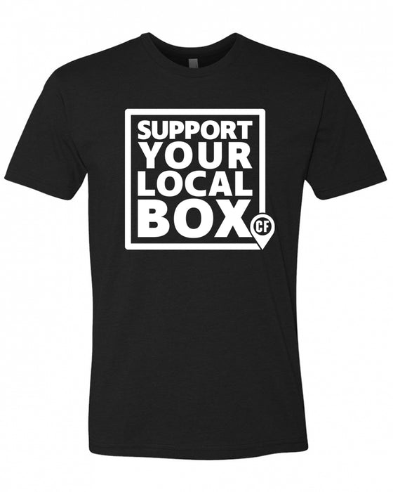 Support Your Local Box Men's Tee Shirt