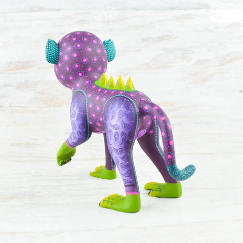 Alebrije Oaxacan Wood Carving Monkey - Magia Mexica