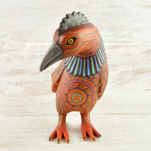 Image of Hen Alebrije Oaxacan Wood Carving - Magia Mexica