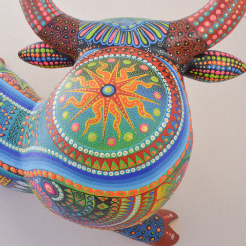 Image of Fish Mini Alebrije - Alebrije Huichol Mexican Folk art magiamexica.com