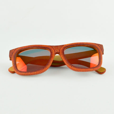 Orange Sunglasses - Alebrije Huichol Mexican Folk art magiamexica.com