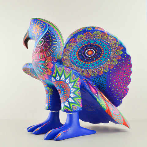 Alebrije Oaxacan Wood Carving Jaguar - Magia Mexica