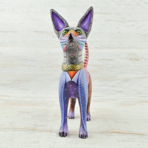 Image of Dog Mini Alebrije - Alebrije Huichol Mexican Folk art magiamexica.com